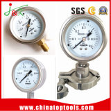 100mm Export-Manometer-Druckanzeiger mit Edelstahl
