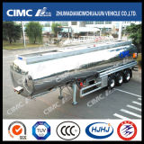 Cimc Mirror Surface를 가진 Huajun Aluminium Fuel Tanker