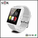 アンドロイドのための2016年の工場価格U8のスマートな腕時計の電話およびIos Bluetoothのスマートな腕時計