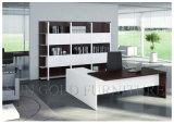 Weißes und schwarzes hölzernes Büro-moderner Schreibtisch (SZ-OD203)
