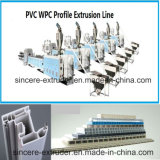 Portelli/Windows del PVC/linea di produzione di profilo comitati di parete
