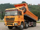 Carro de vaciado pesado de Shacman de la capacidad 30 toneladas del volquete 8X4 de precio del descargador