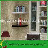 Hauptmöbel-allgemeiner Gebrauch-Spanplatten-dekoratives Eckwand-Regal
