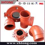 Accessori per tubi galvanizzati a resina epossidica verniciati certificazione di FM/UL Dacromet per la lotta antincendio