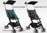 Aluminiumlegierung-bewegliche Kinderwagen falteten Baby-Laufkatze