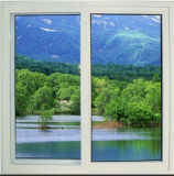 水密か防音ハリケーンの影響はまたは二重ガラスの緩和されたガラスが付いているPVCスライディングウインドウを熱絶縁する