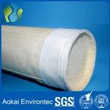Bolso de filtro no tejido de Aramid para el colector de polvo de la planta del asfalto