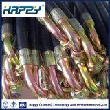 Instalación de tuberías de goma hidráulica de la asamblea de manguito de la venta caliente