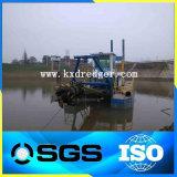 油圧ディーゼルタイプ川の吸引の泥の浚渫船