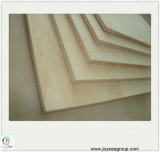 Los materiales de construcción E0 E1 excelente grado de pegamento de madera contrachapada de chapa de madera de pino
