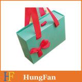 Rectángulo de empaquetado de papel de la cartulina de lujo de encargo/rectángulo de desplazamiento del cajón/rectángulo de regalo de papel