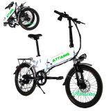 [ليثيوم بتّري] أحد ثانية يطوي درّاجة كهربائيّة درّاجة [فولدبل] كهربائيّة