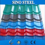 Hoja galvanizada prepintada de la azotea de la hoja de acero del hierro