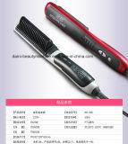 Волос ручки гребня прямо инструмент двойного назначения электронной автоматический электрический