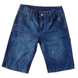 Nuevo y elegante de los hombres pantalones vaqueros algodón corto (CFJ028)