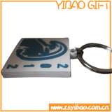 Custom Logo PVC Keychain with Enamel Color (YB-PK-09)