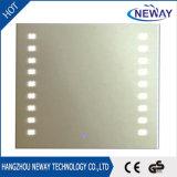 Espelho leve diodo emissor de luz da composição do banheiro IP44