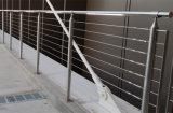 Быстро и легко для того чтобы установить Pre-Assembled панели Railing кабеля с веревочкой провода нержавеющей стали 4mm/6mm