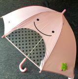 男の子の女子学生3Dの動物形の漫画は雨傘をからかう