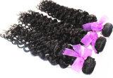 100%年のバージンの人間の毛髪のジェリーのカール自然なカラーブラジル人の毛