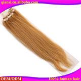Estensione dei capelli dell'anello dei capelli umani di alta qualità 100% micro