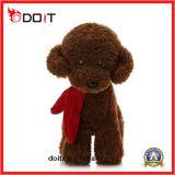詰められた犬のおもちゃの中国のプラシ天のおもちゃのプラシ天犬