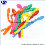 8 partie de ballons en latex multicolore