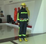 Fato de fogo com capacete / luvas / botas / cinto para combate a incêndio