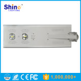 70W longa vida útil da bateria de lítio de iluminação LED de exterior Solar para estrada