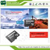 Carte SD 64GB micro de vente chaude avec l'adaptateur libre