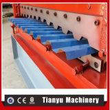 Rolo popular do painel do telhado da chapa de aço que dá forma à telha que faz a máquina