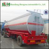 De chemische Vloeibare Zure Tanker van de Aanhangwagen van de Tank Semi met Facultatief Volume
