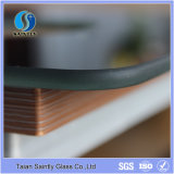 5mm Thick Water Jet Cutting Painted Tempered Glass