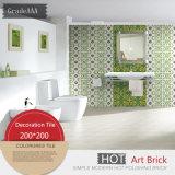 De Spaanse Tegel van de Decoratie van de Stijl voor Woonkamer Green20*20cm