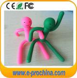 많은 색깔 (EG501)를 가진 남자에 의하여 형성되는 PVC 물자 USB 펜 드라이브
