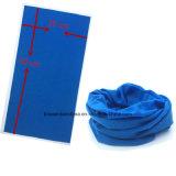 Un foulard multifonctionnel fait sur commande de tube de collet teint par couleur de sports en plein air de polyester