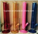 tubulação de água 18inch reta de vidro pesada com 7mm 1300g grosso