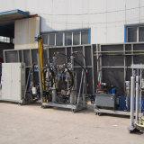 Лакировочная машина силикона штрангпресса кремния машины двойной застеклять стеклянная