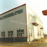 Atelier de construction d'acier résistant aux tremblements de terre avec haute qualité