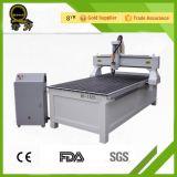 Машина CNC Rouer гравировки Woodworking кровати Lathe пробки квадрата цены вещества Индии