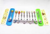 Cuillère et fourchette pour dessin animé en acier inoxydable