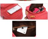 Signora calda elegante Backpack Bag della tela di canapa di vendita di prezzi di fabbrica di nuovo disegno