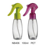 Bottiglia di plastica dello spruzzatore di innesco per le estetiche (NB404)