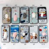 3D personalizadas Teléfono Squishy de silicona para iPhone 6/6s Plus 7 7plus caso