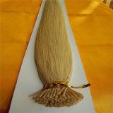 卸し売りPrebondedの毛の棒は実質の人間の毛髪の拡張を私ひっくり返す
