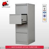 Gabinete de arquivo de aço da gaveta do vertical 4 do uso comercial do escritório