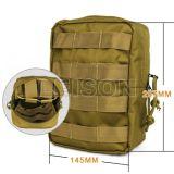 Molle ISO 기준 (JYB-63B-1)를 가진 군 전술상 응급조치 주머니