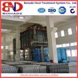 Fornalha extinguendo rápida da liga de alumínio com a fornalha vertical do tratamento térmico