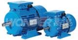 La serie RMS (IE1) fase de tres patas desmontables Eficiencia estándar motores de inducción de aluminio