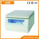 Centrifugeuse à vitesse réduite de table vétérinaire (L600)